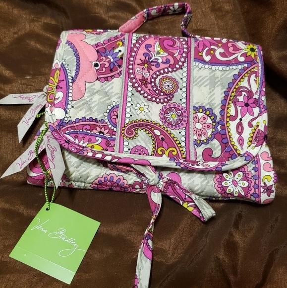 Vera Bradley Handbags - PAISLEY MEETS PLAID Essentials Cosmetic Bag